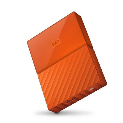 Picture of HARD DISK 4 TB MY PASSPORT ORANGE WD 2.5""