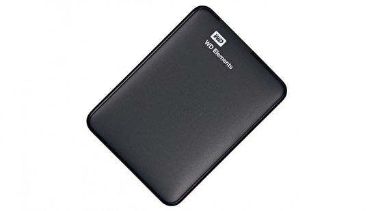 Picture of HARD DISK 1 TB WD ELEMENTS WIN10 NEW2 USB 3.0 BLK
