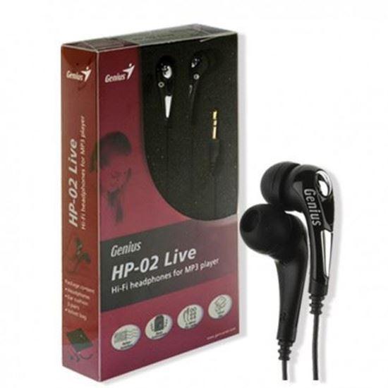 CompuWorld. HEADSET GENIUS HP-02 LIVE NOISE ISOLATION faa55b344e