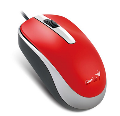 Picture of MOUSE GENIUS DX-120 USB RED