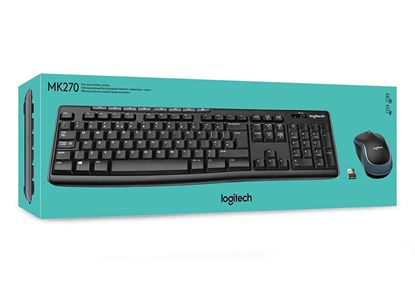 Picture of KB LOGITECH MK270 WIRELESS W/MOUSE E/A