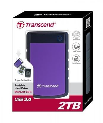 """Picture of HARD DISK 2 TB TRANSCEND ANTI-SHOCK 2.5"""" USB 3.0"""