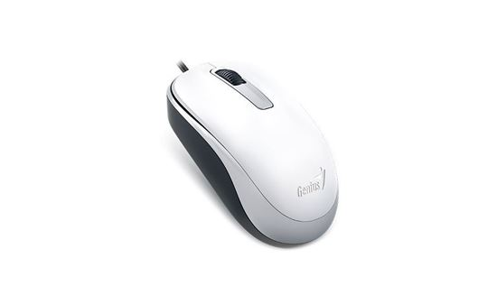 Picture of MOUSE GENIUS DX-125 COMFORT USE WHITE