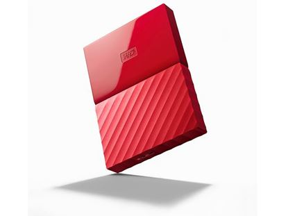 Picture of HARD DISK 4 TB MY PASSPORT RED WD 2.5""