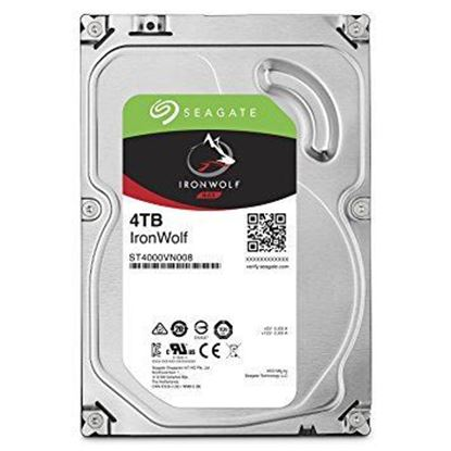 Picture of HARD DISK 4 TB SATA ST4000VN008 IRONWOLF SEAGATE