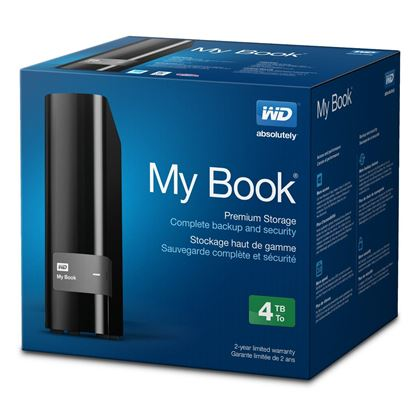 Picture of HARD DISK 4 TB WD MY BOOK