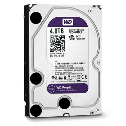 Picture of HARD DISK 4 TB SATA WD PURPLE 6GB