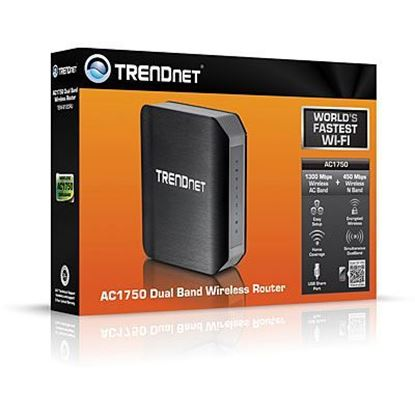 Picture of ROUTER TEW-812DRU WIRELESS AC1750 DUAL BAND TRENDNET