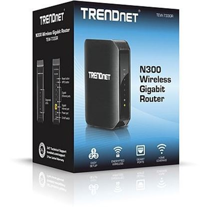 Picture of ROUTER TEW-733GR 300MBPS WIRELESS GIGABIT