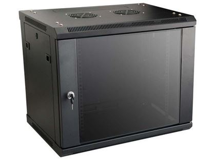 Picture of CABINET 9U W600*D450*H520 BLACK