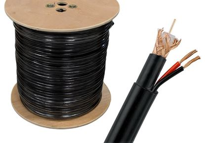 Picture of ROLL CABLE RG6 coaxial cable 300m Camera Cables