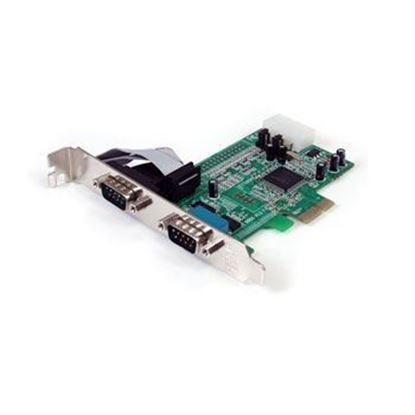 Picture of CARD PCIE TO SERIAL 2 PORTS CP-120 CARD RS-232 2-PORT W/POWER