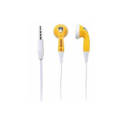 Picture of HEADPHONE GENIUS GHP-02S YELLOW