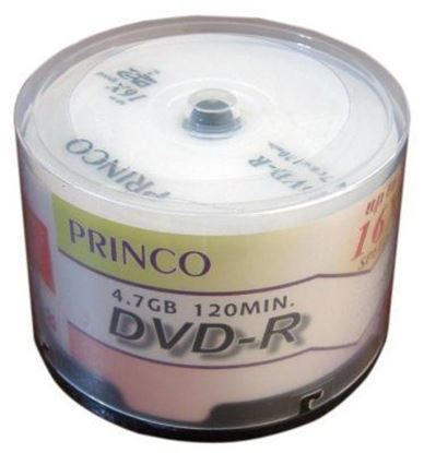 Picture of DVD-R 16X PRINCO 50 PCS