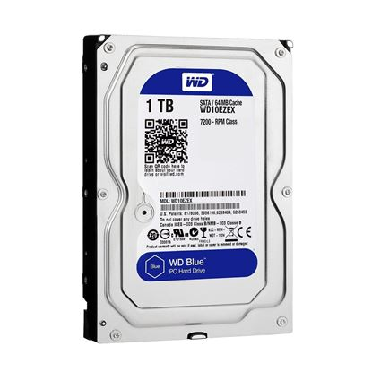 Picture of HARD DISK 1 TB SATA WD BLUE 64MB 7200 WD10EZEX