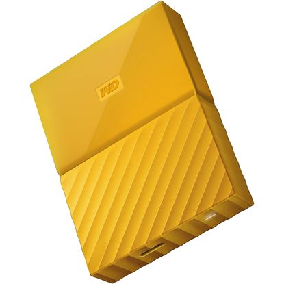 "Picture of HARD DISK 2 TB MY PASSPORT YELLOW WD 2.5"" USB 3.0"
