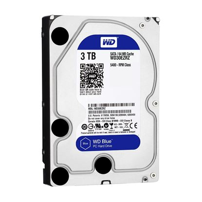 Picture of HARD DISK 3 TB SATA WD BLUE 6GBS 64MB