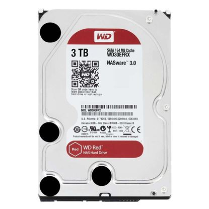 Picture of HARD DISK 3 TB SATA WD RED 6GBS