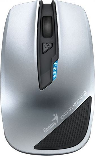 Picture of MOUSE GENIUS WITH POWER BANK ENERGY SILVER WRLS 2700 MAH