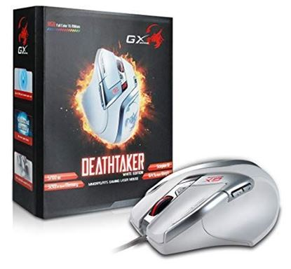 Picture of MOUSE GENIUS DEATHTAKER USB WHITE GX