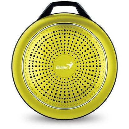 Picture of SPEAKER GENIUS BLUETOOTH SP-906BT LEMON GOLD