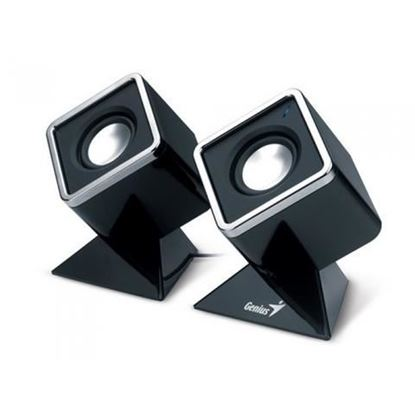Picture of SPEAKER GENIUS SP-D120 BLACK USB POWER