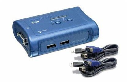 Picture of KVM SWITCH TK-207K 2-PORT USB vga W/2 SETS CABLES