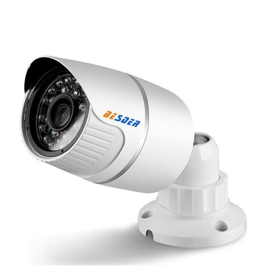 Picture of VCOM IP CAMERA METAL SHELL BLACK 3.6MM 720P