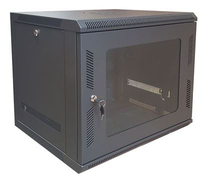 Picture of CABINET 12U W600*D450*H640 BLACK
