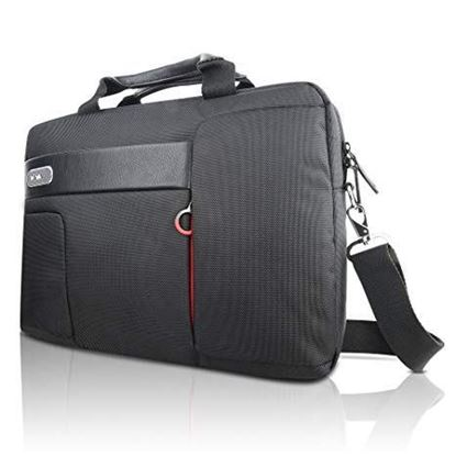 "Picture of NOTEBOOK BAG LENOVO TOPLOADER NAVA 15.6""  BLACK"