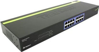 Picture of SWITCH TEG-S16G 16 PORT GIGABIT RACK MOUNT