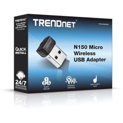 Picture of USB WIFI TEW-648UBM N150 MICRO WIRELESS N