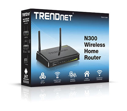 Picture of ROUTER TRENDNET TEW-731BR WIRELESS 300MBPS 2 ANT.
