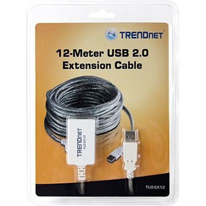 Picture of USB CABLE EXTENSION TRENDNET TU2-EX12 12 METERS