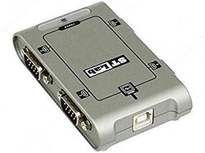 Picture of USB TO SERIAL ADAPTOR 4 PORTS USB2 U-400