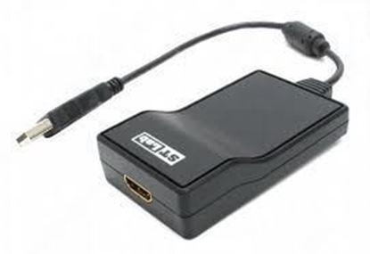 Picture of USB TO HDMI ADAPTOR STLAB U-600 USB 2.0