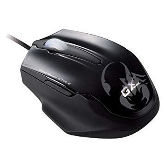 Picture of MOUSE MAURUS USB BLACK GX