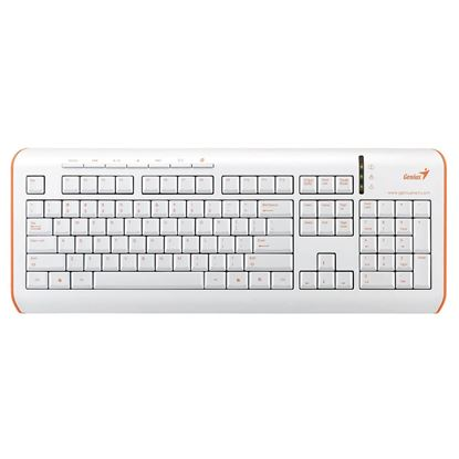 Picture of KB GENIUS S325 USB ORANGE ULTRA SLIM