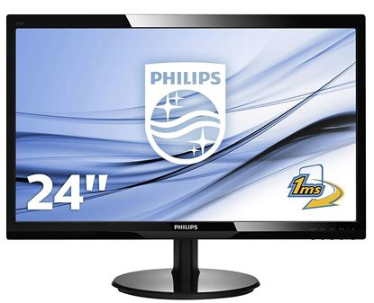 "Picture of SCREEN 23.6"" LCD PHILIPS LED V-LINE 243V5Q MULTIMEDIA"