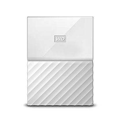 "Picture of HARD DISK 2 TB MY PASSPORT WHITE WD 2.5"" USB 3.0"