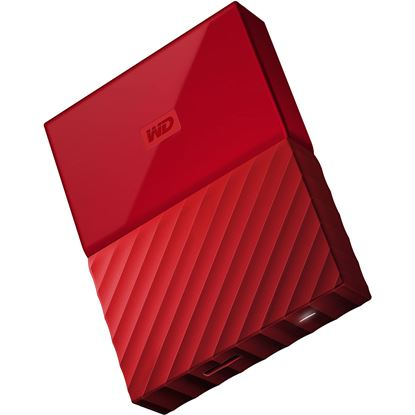 Picture of HARD DISK 2 TB WD MY PASSPORT RED USB 3.0