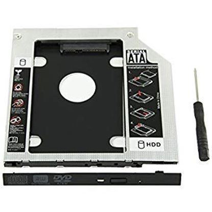 Picture of ENCLOSURE HD DVD SHAPE FOR SSD HDD CADDY
