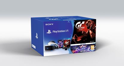 Picture of VR PS4 +CAM+VR DEMO+VR WORLD GAME+GRAN TURISMO GAME