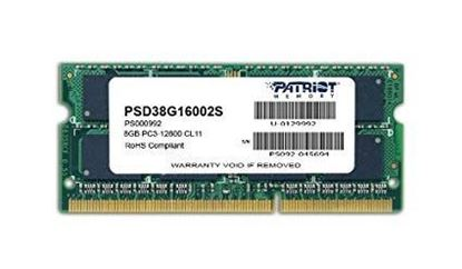 Picture of RAM 8 GB DDR3 SODIMM PATRIOT PC3-12800