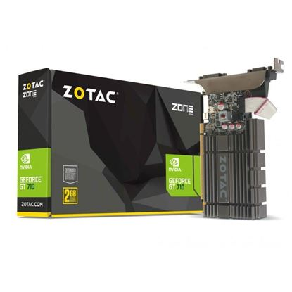 Picture of VGA ZOTAC GEFORCE GT730 2GB/DDR3/ZONE EDITION FANLESS