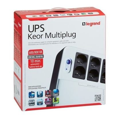 Picture of UPS LEGRAND 800 VA KEOR MULTIPLUG