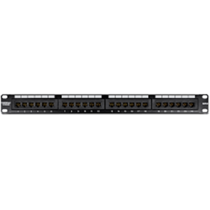 Picture of PATCH PANEL TC-P24C6 TRENDNET CAT.6 24-PORT