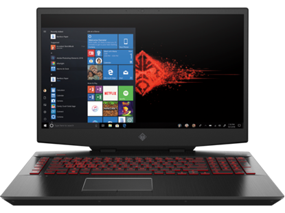 "Picture of LAPTOP OMEN I7-8750H/2TB+256 SSD/32GB/VGA GTX 1060 6G/17.3"" /WIN 10"