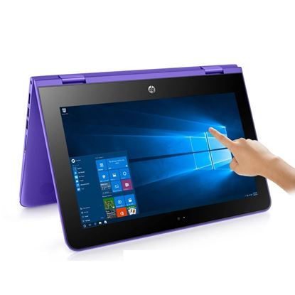 """Picture of LAPTOP HP STREAM X360 CONVERT N3060/4GB DDR3/32GB SSD/11.6"""" TOUCH SCREEN/WIN10"""