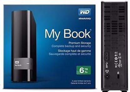 Picture of HARD DISK 6 TB WD MY BOOK